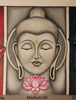 Decorate your room with buddha painting